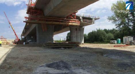 Budowa A4  i mostu na Dunajcu cz. II