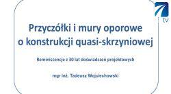 Konstrukcje quasi-skrzyniowe cz.II