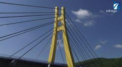 Obciążanie mostu w Zembrzycach
